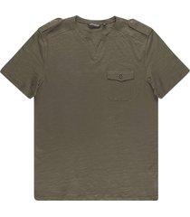 antony morato t-shirt regular fit forest green 4061