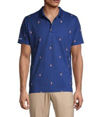 bonobos men's slim-fit performance golf shirt - navy sprit - size xxl