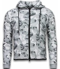 trainingspak enos windrunner camo trainingspakken - camouflage joggingpak -