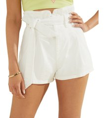 guess belted bustier shorts