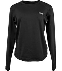 blusa tã©rmica feminina segunda pele thermo premium original regular fit - cor preto - preto - feminino - poliã©ster - dafiti