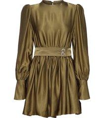 lissa korte jurk groen custommade
