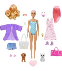 barbie color reveal doll and accessories-beach/party