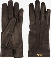 leather gloves black 8.5