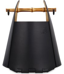 loewe leather bucket bag