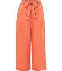 pantaloni culotte in tencel™ lyocell (arancione) - bodyflirt