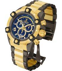 reloj invicta modelo 13043_out oro, gunmetal hombre