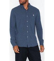 polo ralph lauren featherweight long sleeve knit skjortor derby