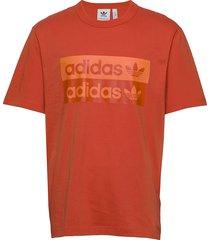 d grp tee 1 t-shirts short-sleeved orange adidas originals