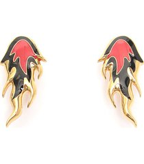 ambush flame earrings