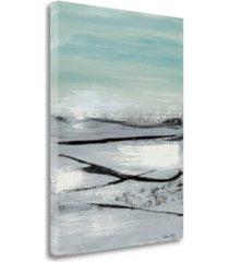 "tangletown fine art beach ii by heather mcalpine fine art giclee print on gallery wrap canvas, 21"" x 29"""