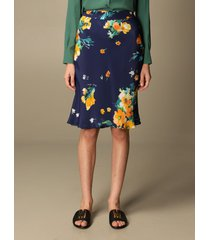 boutique moschino skirt floral print silk sheath dress boutique moschino