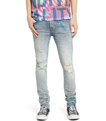 cult of individuality punk super skinny fit stretch jeans, size 36 in skittle at nordstrom