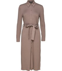 dresses knitted jurk knielengte beige esprit collection