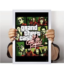 poster grand theft cash