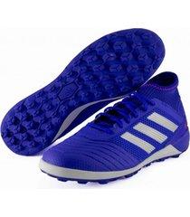 guayos azul adidas predator tango 19.3 cesped articial