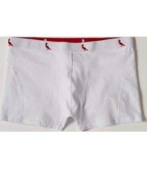 cueca cont. boxer algodao reserva100035501402 branco - branco - masculino - dafiti
