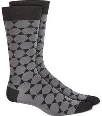 alfani men's geometric star socks, created for macy's