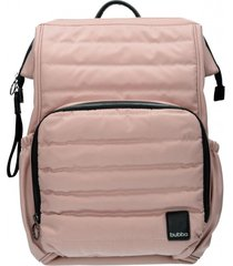 mochila mom pink dots rosa bubba bags