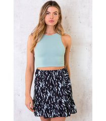 crop top dames mint