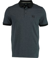 hugo boss polo donkerblauw regular fit 50436436/404