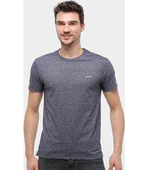 camiseta calvin klein slim básica mouline - masculino