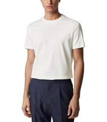 boss men's t-tesar 19 white t-shirt