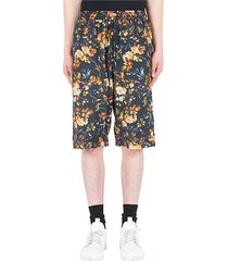 mcq alexander mcqueen mcq swallow floral print shorts