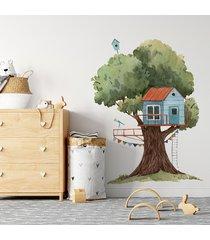 naklejka domek na drzewie 5