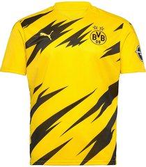 bvb home shirt replica ss w/ sponsor logo w/ opel t-shirts football shirts geel puma