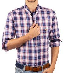 camisa manga larga cuadros ref. 114011219