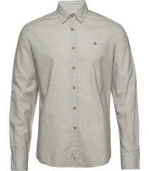 jules button under shirt overhemd casual blauw morris