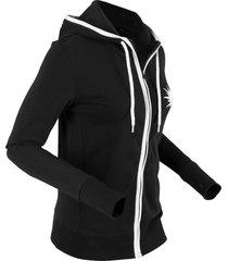 giacca in maglina di cotone (nero) - bpc bonprix collection