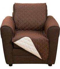 funda doble faz de 1 puesto para proteger su sofá couchcoat
