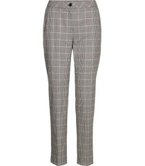 leisure trousers lon byxa med raka ben grå gerry weber