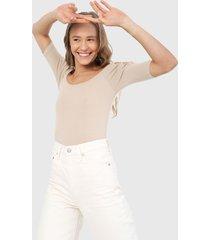 blusa beige ambiance
