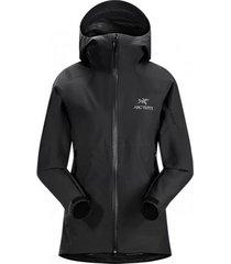 arc'teryx jas women zeta sl jacket black-s