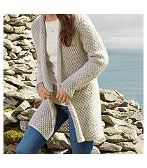 mohair blend cardigan, 'etruscan cozy' (italy)