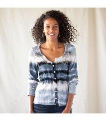 velvet striped cardigan sweater