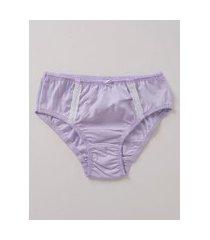 calcinha infantil para menina - lilás
