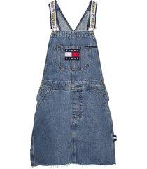 tjw lo y tunes dun korte jurk blauw tommy jeans