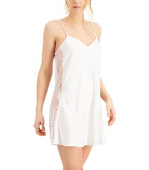 inc embroidered chemise nightgown, created for macy's
