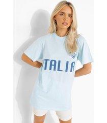 italië voetbal t-shirt, blue