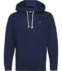 new original hoodie dress blue hoodie trui blauw levi´s men