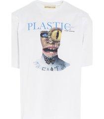youths in balaclava plastic t-shirt