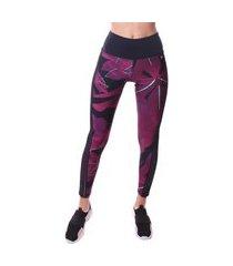 calca simony lingerie legging com elastico lateral trilobal fit preto