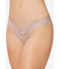 maidenform sexy must have sheer lace thong underwear dmeslt