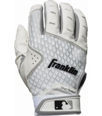 franklin sports 2nd - skinz batting gloves - youth