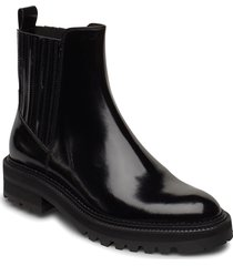 boots 4805 shoes boots ankle boots ankle boot - heel svart billi bi