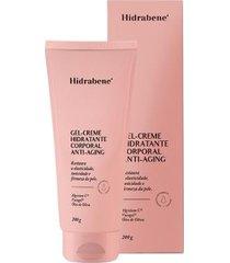 gel creme hidratante corporal anti-aging hidrabene 200g